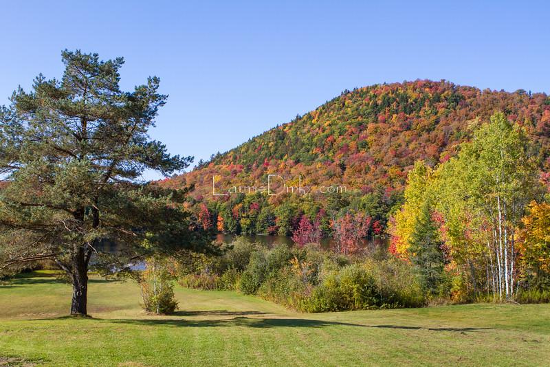 Oxbow Lake and Mountain, Piseco - Adirondacks