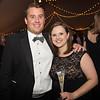 Celebrating the campaign: John '01 and Lauren Jensen '02.