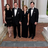 The Stephens family: Laura '12, Warren '79, Harriet and John at the Warren A. Stephens Colonnade Walk.