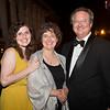 Celebrating the campaign: Eileen Small '15, Alison Small, Trustee Jamie Small '81.