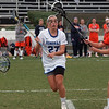 Midfielder Haley Tucker '19 scored a goal in the 10-3 loss to fifth-ranked Gettysburg.