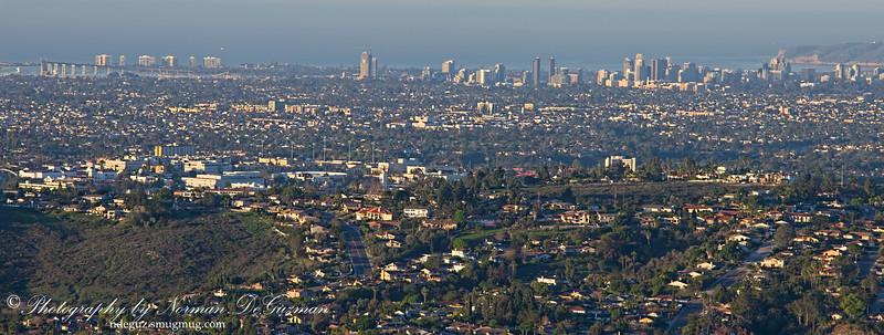 Overlooking San Diego City