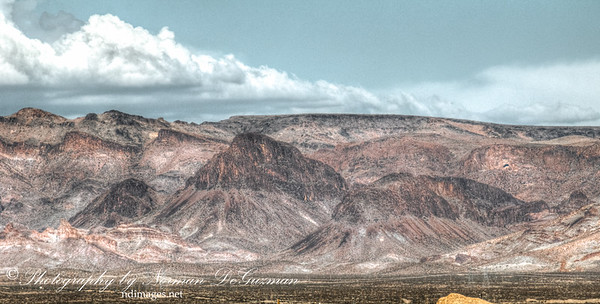 Mtns near Boundary Cone