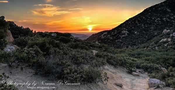 Sunset from Iron Mountain