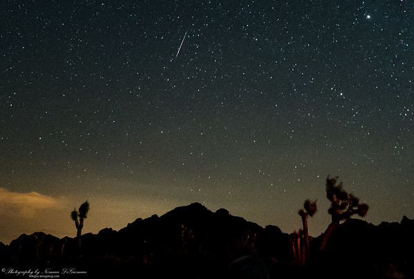 Perseid Meteor Shower. 2:25am