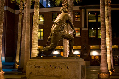 Willie Mays statue, outside AT&T Park