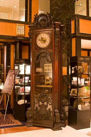 The famous grandfather clock in the Westin St Francis in Union Square