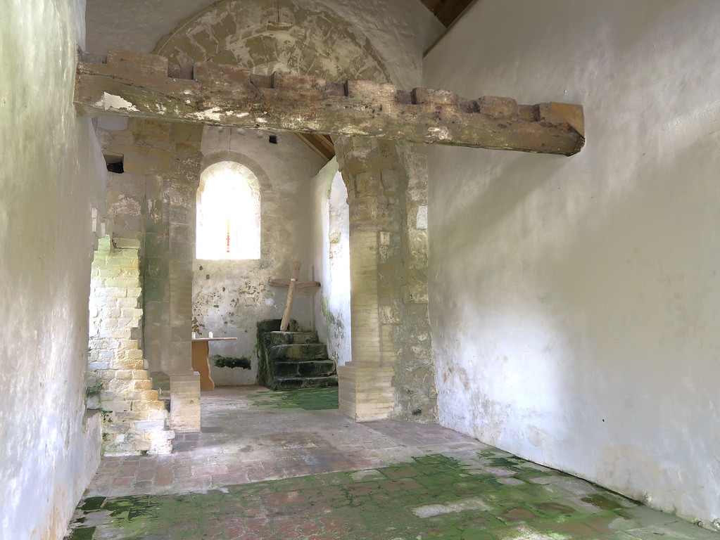Apparently this was originally a chapel for the monks who once lived here, later to become a home and a bakehouse before reverting to a chapel.
