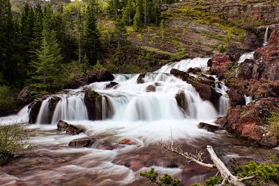Red Rock Falls, Glacier National Park