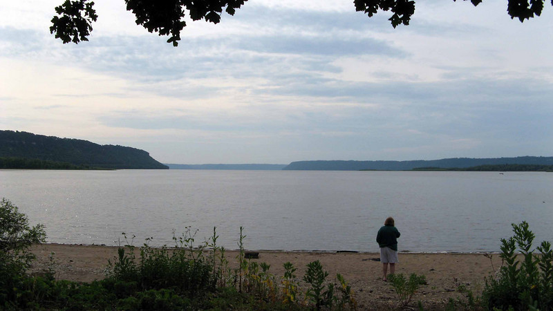 149 Lake Pepin from our campsite