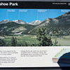 There it is! plaque of the mountains and names of the mountains from the previous photo. Yea!