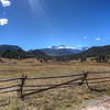 Looking south at Estes Park and into Rocky Mountain National Park from Devils Gulch Road.