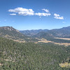 Really happy this photo come out ok. It's a hand held panorama from Many Parks Curve Overlook.