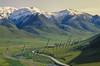 Scenery, mountains, Dalton Highway, Alaska pipeline, Alaska