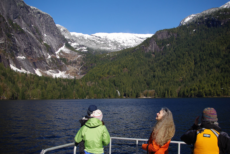 The view from the boat as we approach the end of Princess Louisa Inlet is always breathtaking.