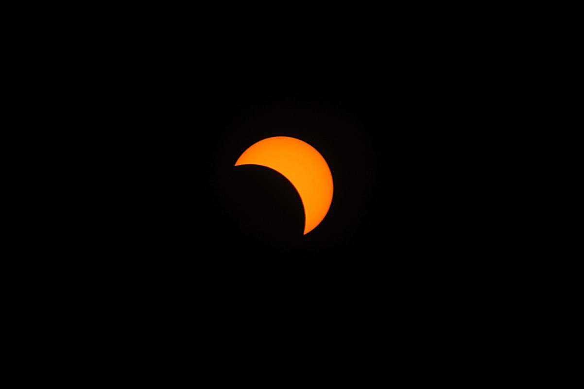 Sun Eclipse on 2009-07-22 (0954 hours)