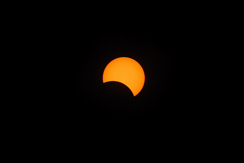 Sun Eclipse on 2009-07-22 (1017 hours)