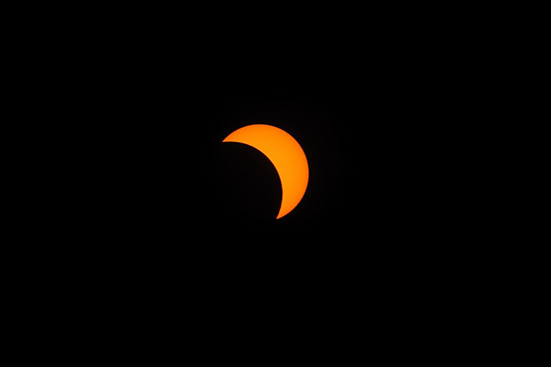 Sun Eclipse on 2009-07-22 (0947 hours)