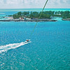 Parasailing on Coco Cay