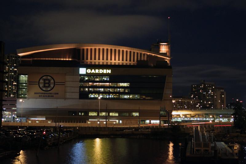 TD Bank North Garden Light Up Gold For The Bruins
