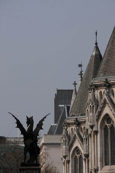 Temple Bar boundary dragon