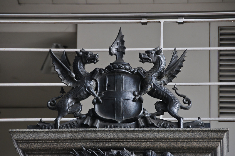 City of London coat of arms in Smithfield Market