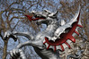 Boundary dragon on Victoria Embankment