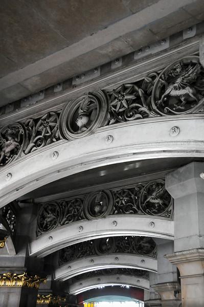 Girders under Holborn Viaduct