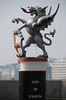 Boundary dragon on Blackfriars Bridge