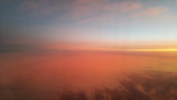 AirplaneSunrise17