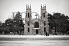 Columbia, South Carolina Church with snow.  Jan 2010