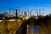 Gervais Street Bridge - Night Scene Feburary 2003