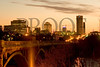 Gervais Street Bridge Sunrise - Columbia, South Carolina