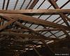 Underside of the roof