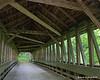 Inside the bridge looking west
