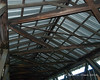 The roof structure and bracing