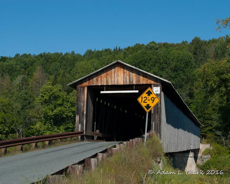 Eastern end of the bridge