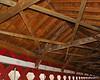 The roof of the bridge