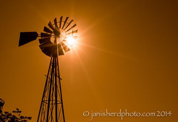 Windmill, Staggerlee Farm, Brenham, Texas