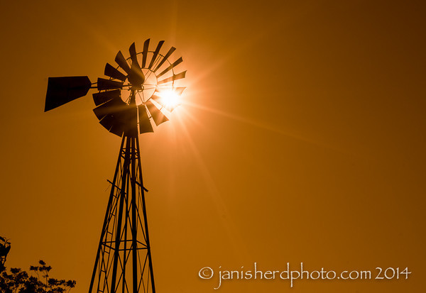 Windmill, Staggerlee Farm, Brenham, Texas