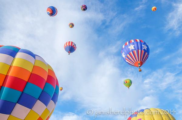 Reno Balloon Races 2014
