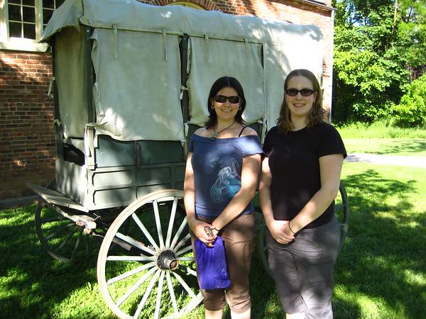 SISTERS!  Holly & Stephanie