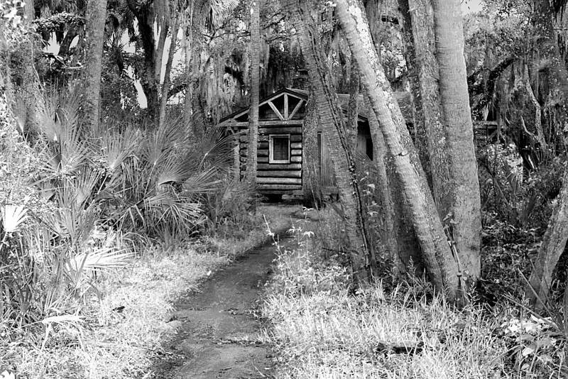 Cabin In The Woods..  Myakka State Park, Florida