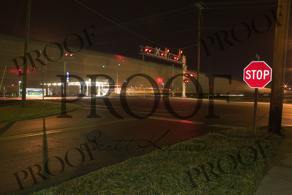 April 13th, 2004 - Irmo South Carolina - Woodrow St at Lake Murray Blvd.  (Train Shot)