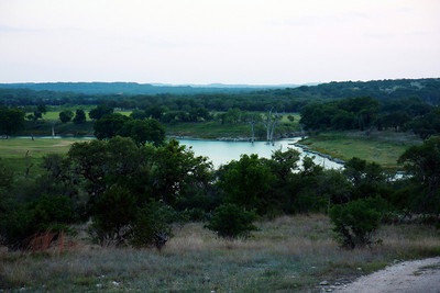 Portion of Canyon Lake in Texas