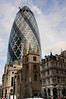 30 St Mary Axe and St Andrew Undershaft