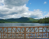 Mt. Chocorua behind Lake Chocorua from the bridge at the southern end of the lake