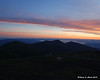 Friday morning's sunrise over the northern Presidentials from the observation deck