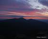Sunrise along the auto road<br /> Mt. Adams & Mt Madison