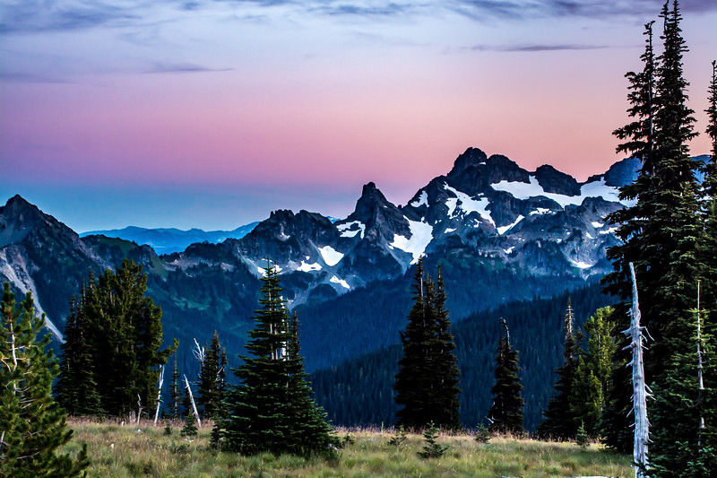 Washington Cascade Mountains Sunrise Point